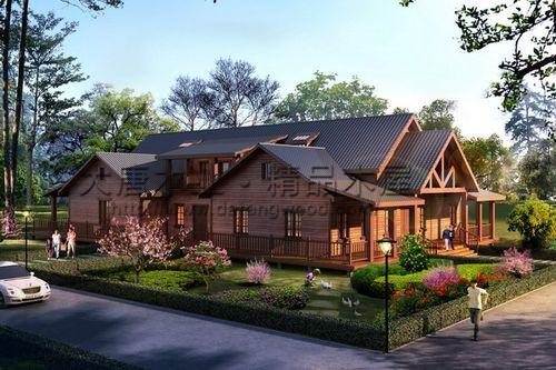 木屋别墅不同的风格价格也不同
